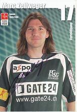 Marc Zellweger  FC St.Gallen  Autogrammkarte signiert 297351