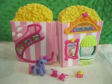 "Mini 2"" MLP My Little Popcorn Movie Theatre Ponyville, Drink Lot-ORIGINAL PONY!"