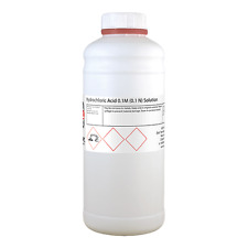 Acido cloridrico 0,1 M (0,1 N) volumetrico soluzione 1000ml / 1 litro