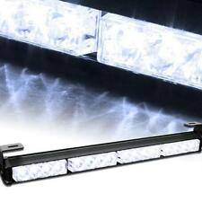 High qualit 16LED White Emergency Traffic Advisor Flash Strobe Light Bar Warning