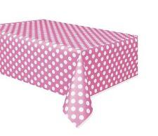 Art de la table de fête nappes rose pour la maison