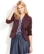 NWT $129 QMack Women's Multi-Color Geometric Long Sleeve Blazer Jacket Sz: 2