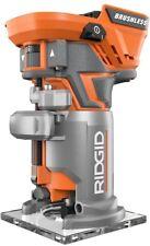 RIDGID Cordless Router Variable Speed Brushless Motor 18V Lithium-Ion Battery