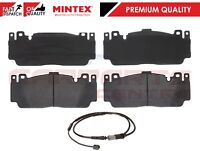 FOR BMW M5 F10 M6 F06 F12 F13 FRONT BRAKE PADS SET & WIRE SENSOR MINTEX