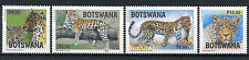 Botswana 2017 MNH The Big Five Leopards 4v Set Leopard Wild Animals Stamps
