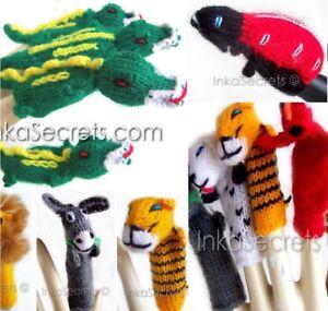 500 Peru Finger Puppets