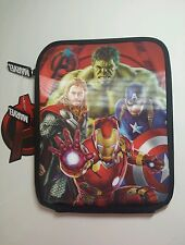 "Marvel Comics Avengers Age of Ultron Mini IPad  Tablet Cover 3D  - 7 × 9"" • GIFT"
