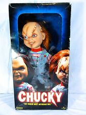 "Sideshow Collectibles Bride Of Chucky  "" Chucky "" Doll Scarce In Box"