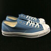 Converse Jack Purcell Signature Ox Blue Coast Blue Strip 155588C Shoes Navy