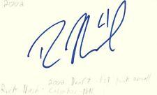 Rick Nash Columbus Nhl 2002 Draft 1st Pick Autographed Signed Index Card Jsa Coa