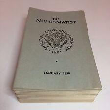 Vintage The Numismatist Books - American Numismatic Association - 1958 COMPLETE