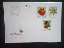 Switzerland 2008 christmas (3v set) First Day Cover