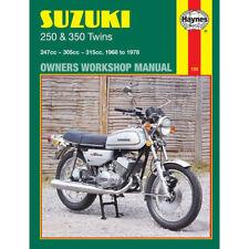 Suzuki GT250 GT350 T250 T305 Twins 1968-78 Haynes Workshop Manual