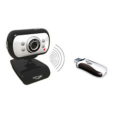 WIRELESS 2.GHZ WEBCAM WITH NIGHT VISION & BUILT IN MICROPHONE