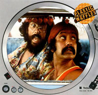 """Cheech and Chong #2 Slipmat Turntable 12"""" LP Record Player, DJ Audiophile"""
