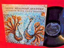 MULLIGAN QUARTET REUNION with CHET BAKER LP 1958' ITALY MINT- First Pressing