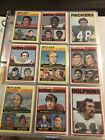 1972 Topps Football Near SET (series 1,2) LOADED Namath, Bradshaw etc EX+ SHARP