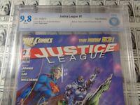 Justice League (2011) DC - #1, CBCS 9.8 (NM/MT), 3rd Print, Jim Lee CVR (New 52)