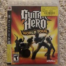 Guitar Hero: World Tour (Sony PlayStation 3, 2008)