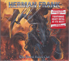 HERMAN FRANK 2016 CD - The Devil Rides Out +1 (Ltd. Digi.) Accept/Masterplan NEW