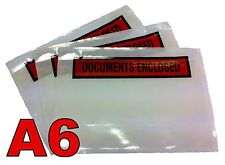 100 Document Enclosed Envelopes wallets-A6 size