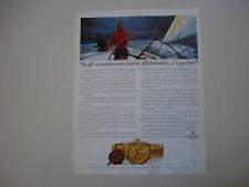 advertising Pubblicità 1995 OROLOGIO ROLEX DAY-DATE