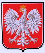 POLISH EAGLE DECAL Size apr. 100mm by 85mm
