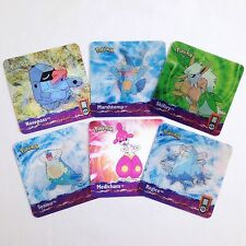 Pokemon Holographic Artbox Holo Square Image Changing Vintage Cards Lot Of 6