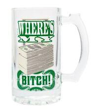 1 X Breaking Bad Money 16 oz glass mug …313166 9913