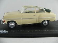 Ixo #05 OPEL OLYMPIA REKORD Cabrio-BERLINA (1954) in beige 1:43 NUOVO/PC-VETRINA