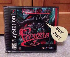 Revelations Series: Persona (Sony PlayStation 1, 1996) Atlus