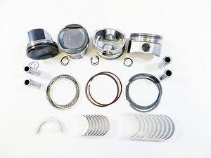 Piston/Ring (.50mm)+Engine Bearings (.25mm) for 07-10 Toyota Scion 2.4L 2AZFE