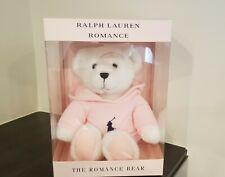 PINK RALPH LAUREN POLO TEDDY BEAR IN BOX HODDIE ROMANCE LINE NEW 2020