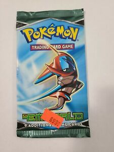 Pokemon ex emerald booster pack SEALED & UNWEIGHED Deoxys Art