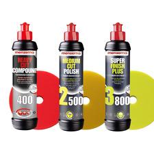 Menzerna - 6er Politurset HC400 - MC2500 - SF+3800 + 150mm Pads (10,00€/1Stk)