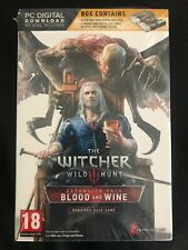The Witcher 3 Gwent Playing Cards (EN) & Blood And Wine PC DLC || NEW
