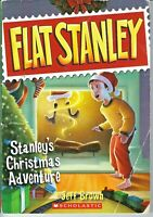 Flat Stanley: Stanley's Christmas Adventure by Jeff Brown (2010, Paperback)