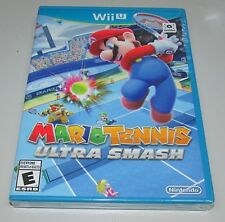 Mario Tennis Ultra Smash for Nintendo Wii U Brand New! Factory Sealed!