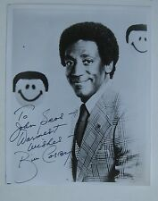 Vtg Hollywood Star TV Comedian Actor Bill Cosby Autographed Photo SIGNED