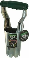 Bulb Planter With Depth Markers Spring Loaded Dirt Release Garden Tools NEW