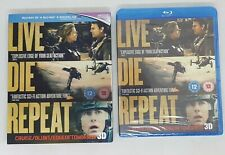 Edge of Tomorrow Live Die Repeat 3D Blu-ray + Blu-Ray + Lenticular Slip case NEW