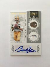 15/50 BART STARR PACKERS HOF Autograph 2011 Natl Treasures Ring Of Honor