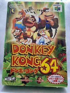 Nintendo Nintendo 64 Donkey Kong 64 box N64 Japan