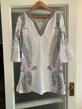 FAT FACE LONG BLOUSE SIZE UK 14 IN VERY GOOD CONDITION