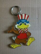 LOS ANGELES 1984 Olympic Games SAM mascot key ring keychain