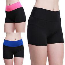 Simple Women Jady Summer High Waist Sports Running Yoga Trousers Shorts BH