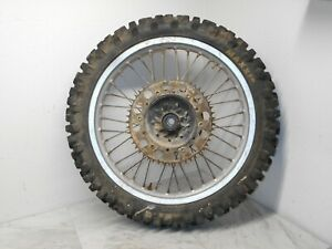 YAMAHA YZ250WR YZ 250WR 250 WR  1989 89 REAR WHEEL TIRE  TIRES RIM.