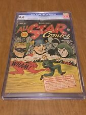 All-Star Comics #6 CGC 4.0 Off-White/White Pages Golden Age DC Comics 1941