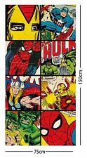EXTRA LARGE - Marvel Comics 'Defenders' Beach Bath Towel Kids Boys Avengers Gift