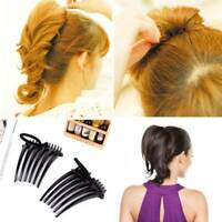 2PCSFashion Style Hair Clip Bumpit Bouffant Ponytail Hair Comb Hair Accessories~